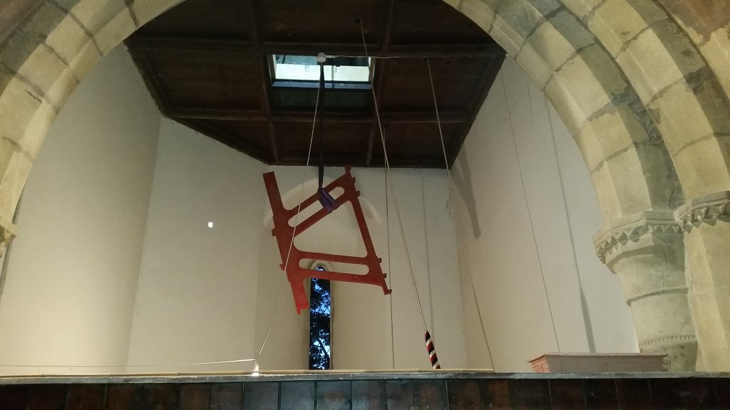 Hoisting the New Frame